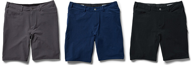 swrve trouser shorts