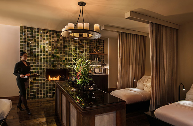 Spa Relaxation Area at The Peninsula Chicago