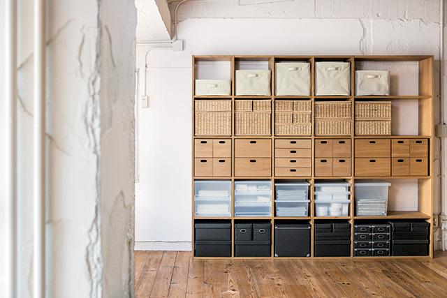 MUJI Storage units