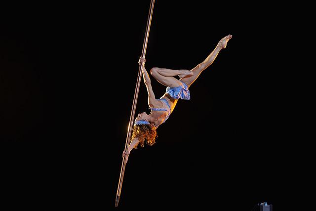 Suspended Pole Cirque du Soleil
