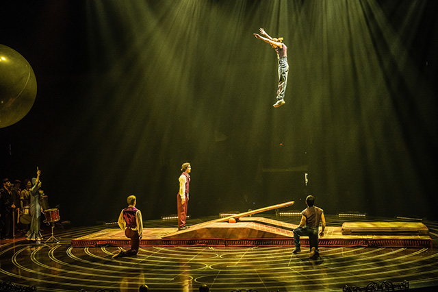 Teeterboard Costumes Dominique Lemieux 2018 Cirque du Soleil