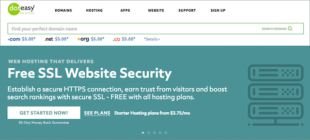Free SSL with Doteasy
