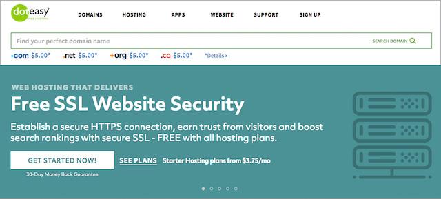 Free SSL with Doteasy