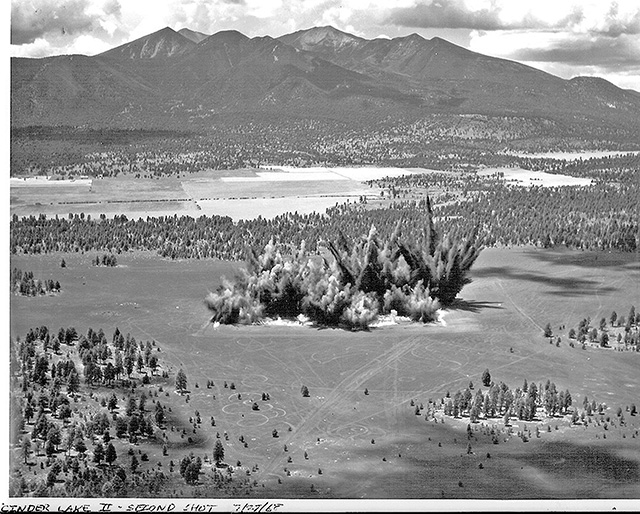 Construction of Cinder Lake Crater Field
