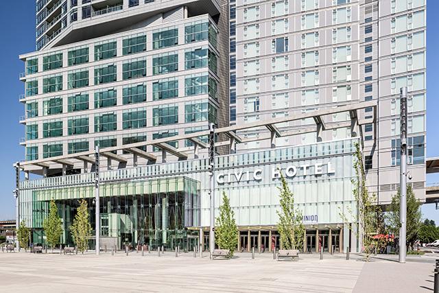 Civic Hotel Exterior