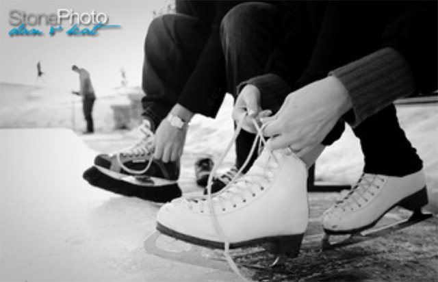 Grouse Mountain ice rink