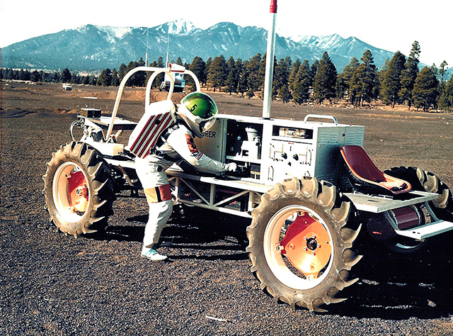 USGS Field Test Support Unit member John Hendricks