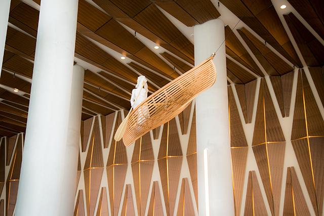 Lobby art by artist David Robinson