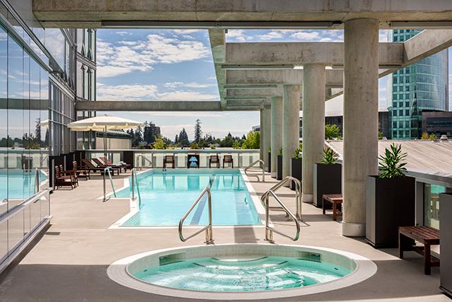 Civic Hotel Pool
