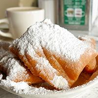 New Orleans beignet