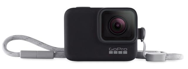 GoPro sleeve and lanyard