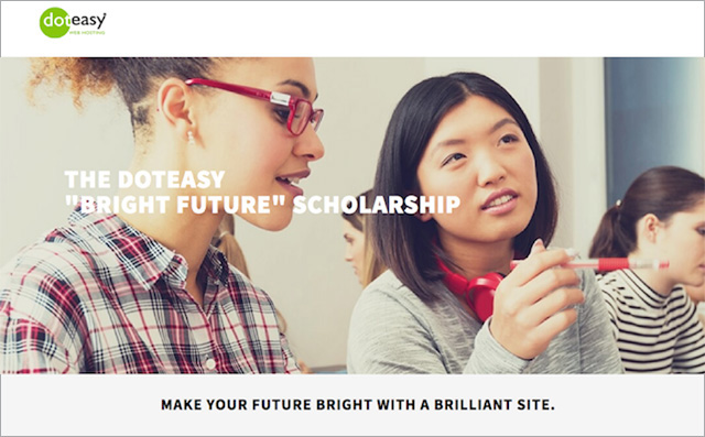 Doteasy Bright Future Scholarship