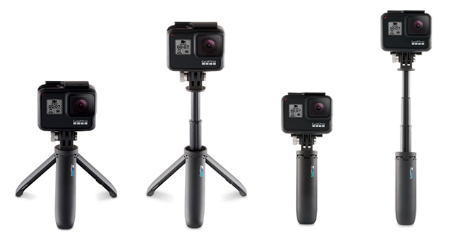 GoPro Shorty tripods