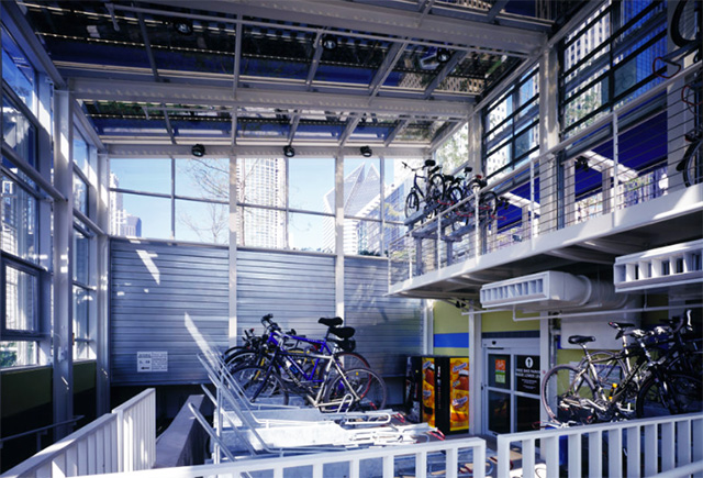 Millennium Park Bike Station