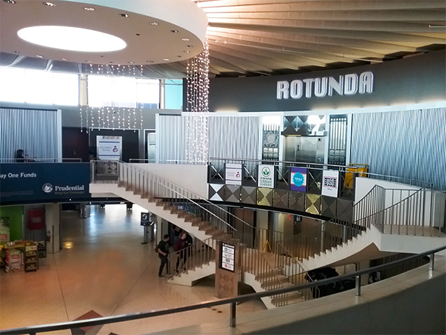 Rotunda Building at O'Hare Airport