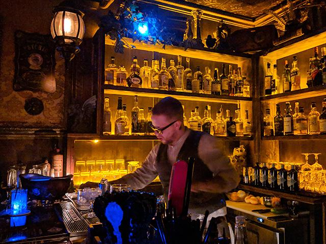 Bartender Hendrick's Orbium Vancouver