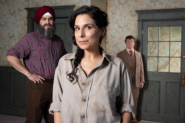 Munish Sharma, Laara Sadiq, Andrew Cownden