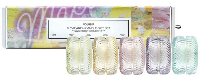 Voluspa Macaron 5 Candle Gift Set
