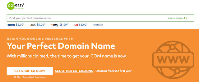 Doteasy Domain Names