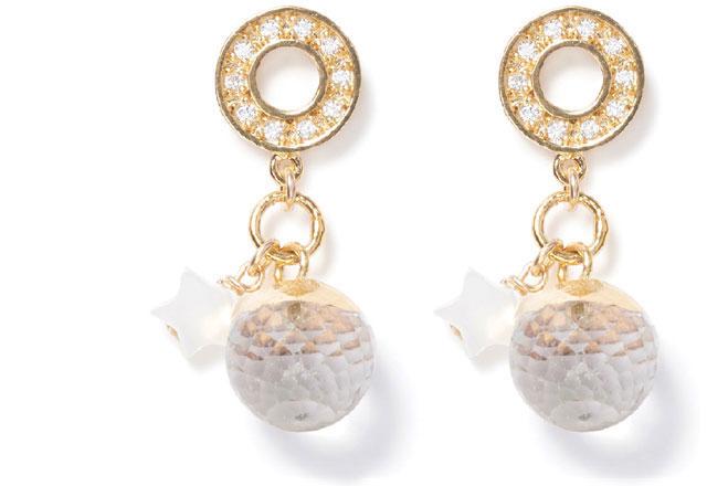Festives Gold earrings