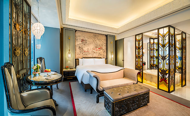 Wanda Reign on the Bund, Deluxe room