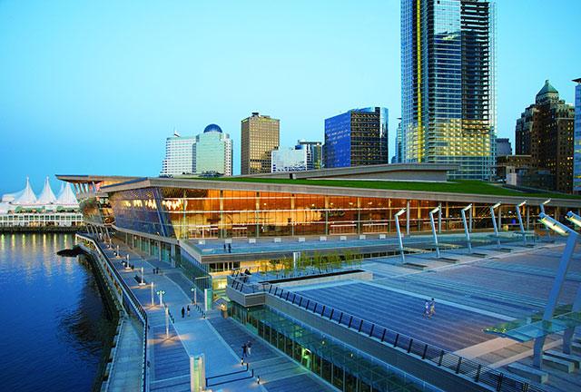 Vancouver Convention Centre West exterior