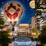 Hendrick's Gin Debuts Hot Air Balloon During Honda Celebration of Light