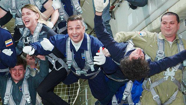 Boris in space