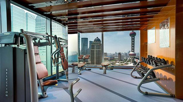 Kempinski Shanghai fitness center