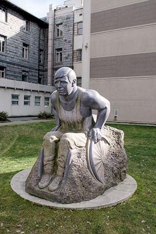Rick Hansen Statue