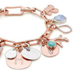 Elegant and Customizable: Monica Vinader Alta Capture Charm Bracelet