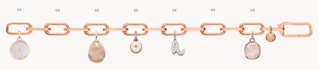 Customizing rose gold Alta Capture bracelet