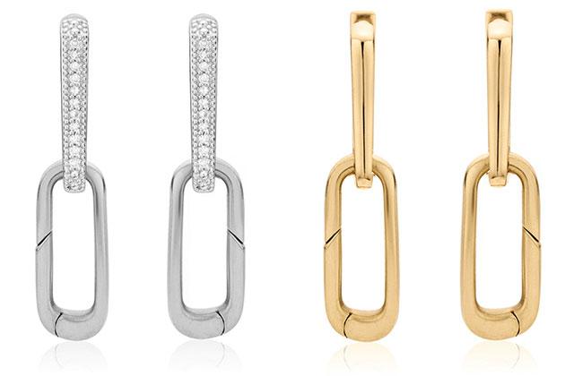 Alta Capture Charm Diamond Earrings, Alta Capture Charm Earrings