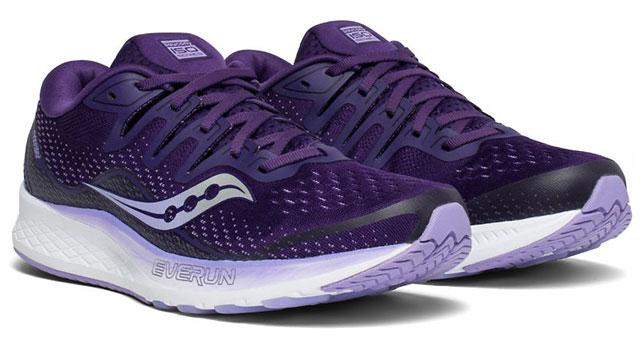 Saucony ISO Ride in Purple