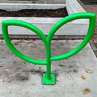 Vancouver's Colourful New Bike Racks