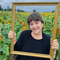 Fraser Valley sunflowers
