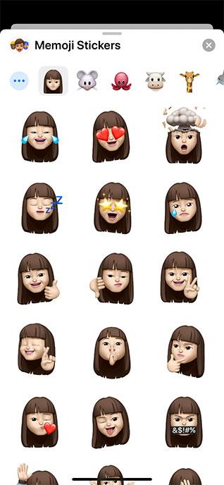 Memoji Stickers