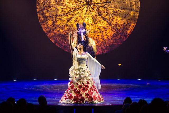 Cirque du Soleil's LUZIA
