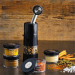 Seasoning the Holidays with Kuhn Rikon's Ratchet Spice Grinder