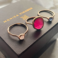 Monica Vinader Siren Stacking Rings