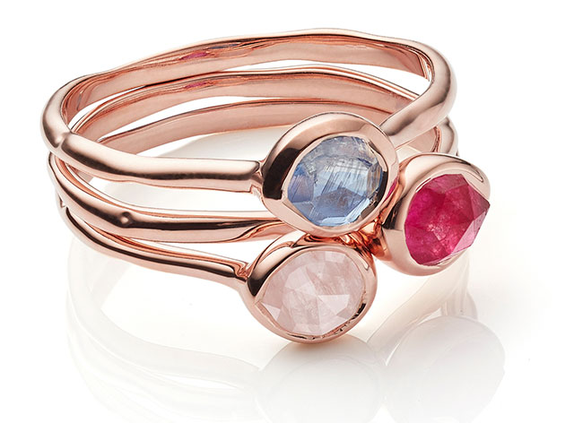 Rose Quartz, Pink Quartz and Kyanite