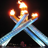 Olympic Cauldron, Vancouver