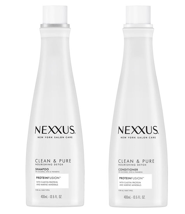 Nexxus Clean & Pure Nourishing Detox Shampoo & Conditioner