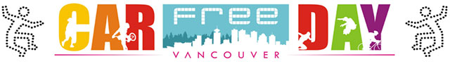 Car Free Day Vancouver banner