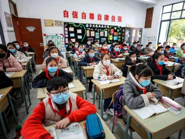 Elementary school students