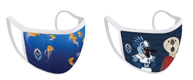 Vancouver Aquarium and Vancouver Whitecaps FC Partner to Sell Face Masks