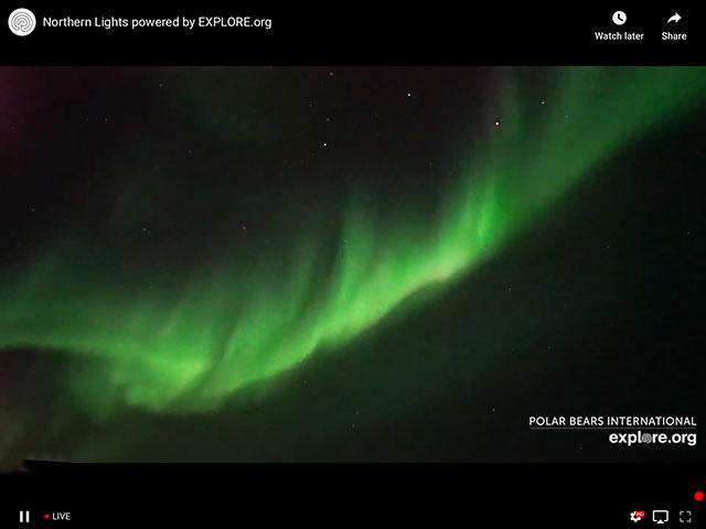 Aurora Borealis, Churchill Manitoba