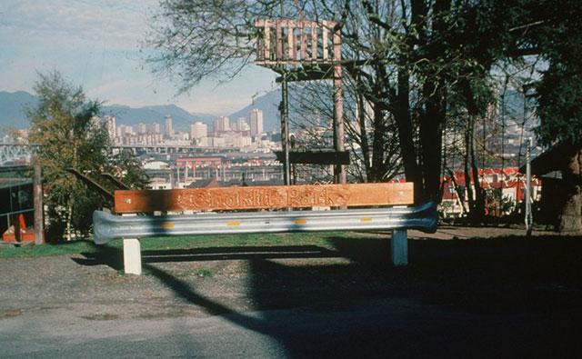 The original Choklit Park sign