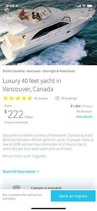 GetMyBoat app