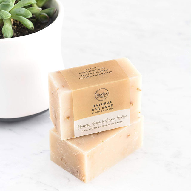 Honey Oats & Cocoa soap